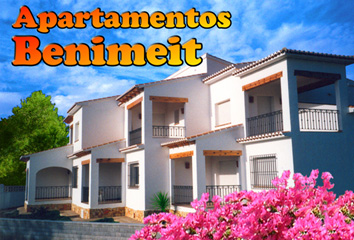 Apartments Moraira facade